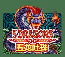 SLOTXO เกมส์ Five Dragons
